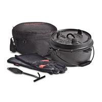 Campfire Cast Iron Camp Oven Set - 4.5 Quart image