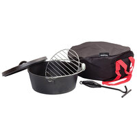Charmate Cast Iron Camp Oven Set - 4.5 Quart image