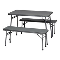 Coleman Folding Table and Bench - 3 Piece Set image