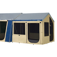 OZtrail Cabin Canvas Sunroom with PVC Floor image