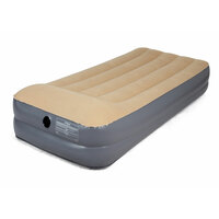 OZtrail Velour Air Mattress - King Single Double Height image