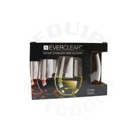 Everclear Tritan Stemless White Wine Glass - 443 ml - 2 Pack image