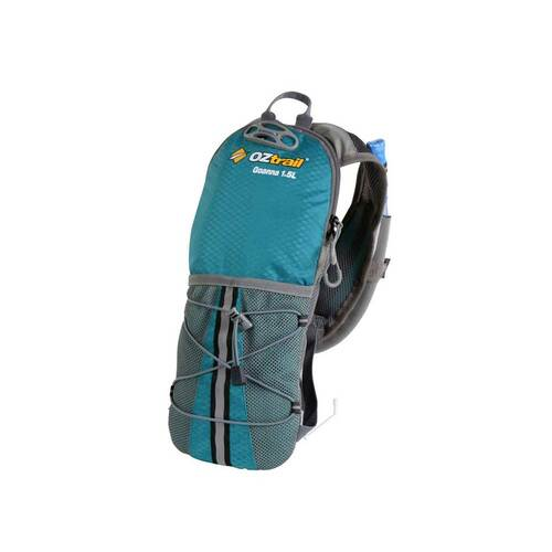 OZtrail Goanna 1.5 Litre Hydration Pack [Colour: Aqua]