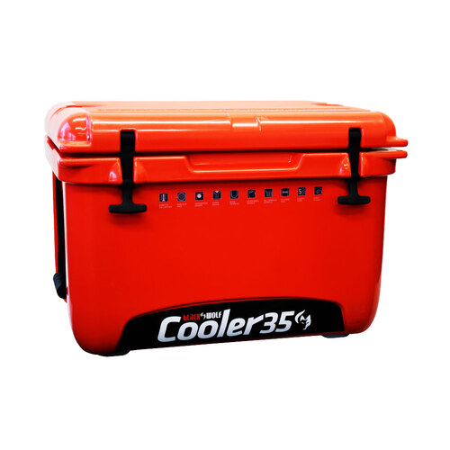 Black Wolf Hardside Cooler 35 Litre
