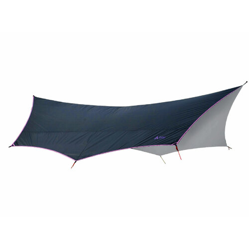 Luxe Batwing 500 Tarp  [Colour: Black/Silver]