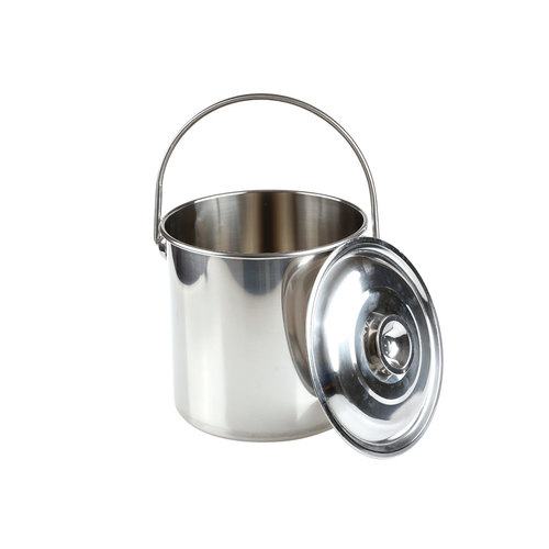 OZtrail Stainless Steel Billy Tin - 12 Litre